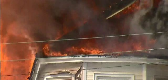 Dozens left homeless after Bridgeport fire
