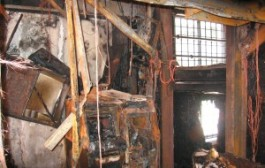 FIRE ACCIDENT IN A SMALL OFFICE PREMISE IN CHENNAI.