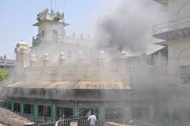 MAJOR FIRE AT MOTI MAHAL IN GWALIOR