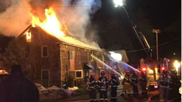 Fire Destroys Historic 300-Year-Old New Jersey Inn That Hosted George Washington