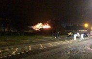 Major fire at Kendal industrial estate