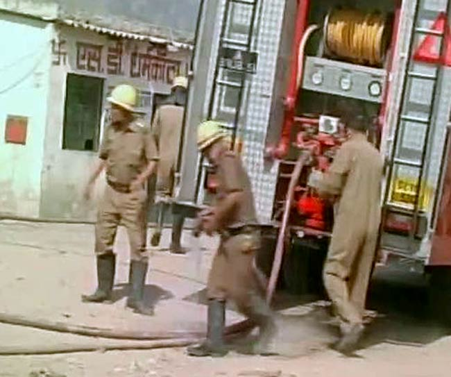Delhi witnesses three fire incidents