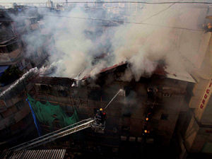 Kalbadevi fire Mumbai's deputy fire brigade chief succumbs to injuries Ma