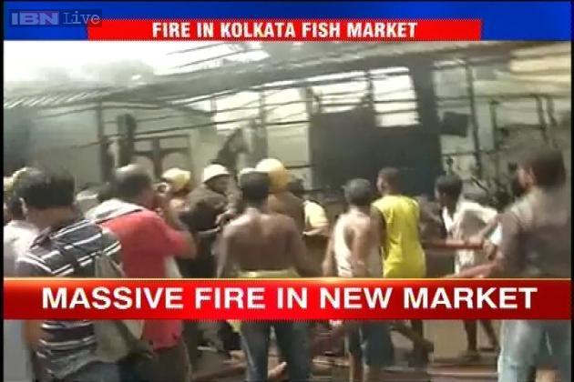 Kolkata: Fire breaks out in New Market area, no casualties reported