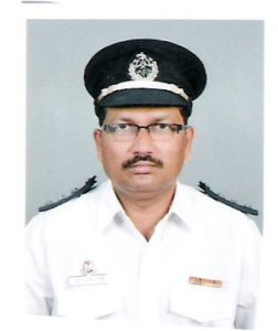 Late chief fire officer Sunil Nesarikar
