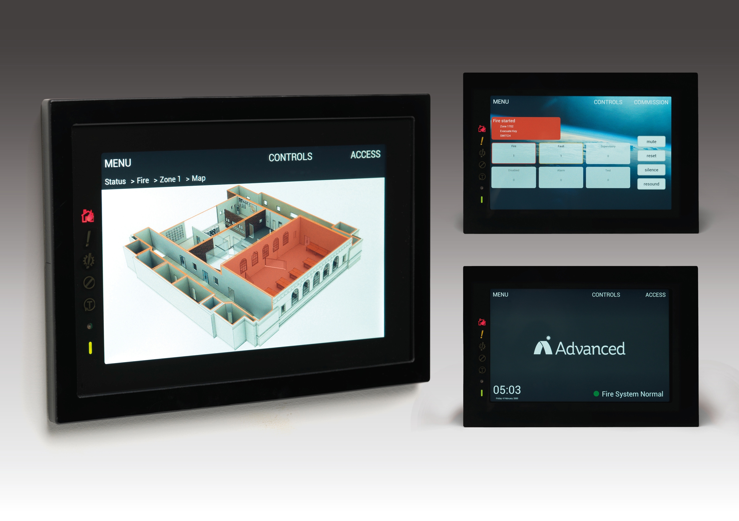 Advanced Sets the Standard With Touchscreen Fire System – 'TouchControl'