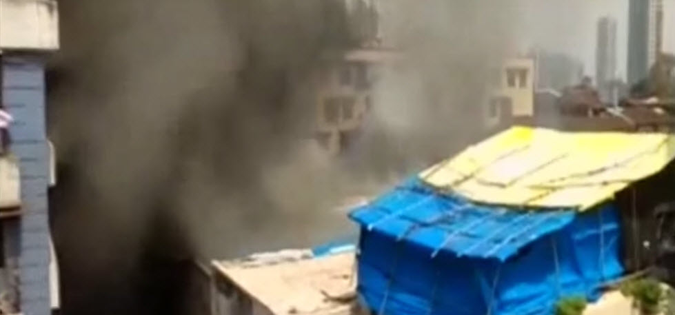 Mumbai: One dead in fire at godown in Grant Road