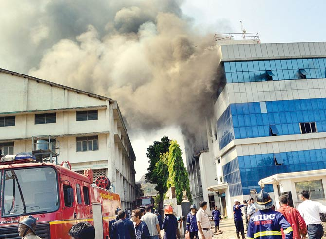 Constructed a year ago, two MIDC fire stations await inauguration