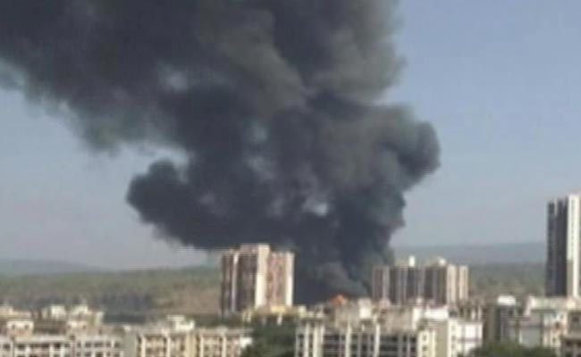 2 Dead in Massive Fire in Mumbai, Series of Cylinder Blasts Heard