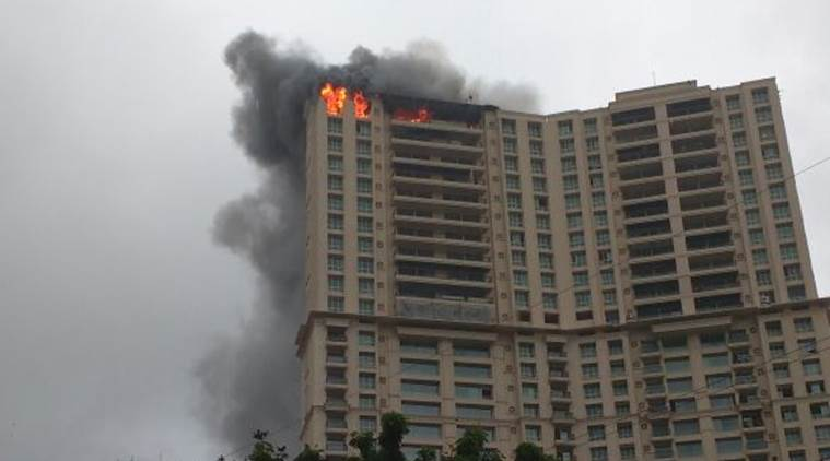 Mumbai: Major fire at Hiranandani Towers in Kandivali, no injuries reported