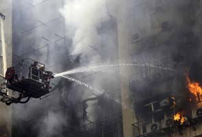 FIRE IN SHOPPING MALL IN MUMBAI, NO CASUALTIES