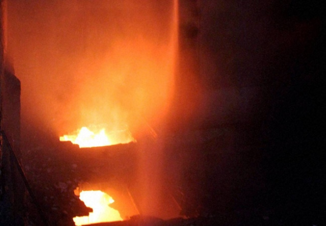 Fire in building at Kalbadevi, 1 hurt