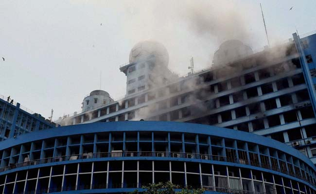 Large fire in Kolkata at building which has government offices