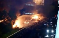 Major fire in Mumbai port zone, 8 fire tenders rushed