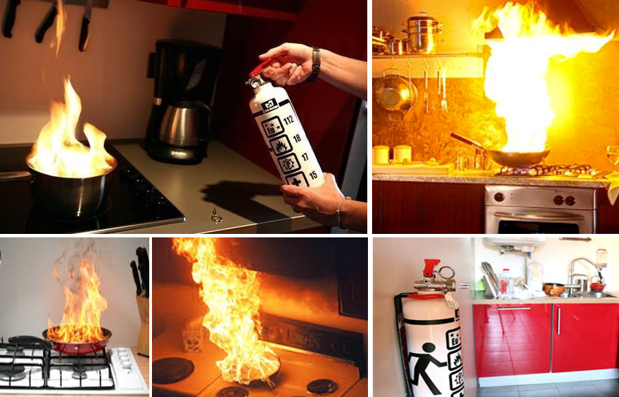 Do You Have a Fire Extinguisher in Your Kitchen?