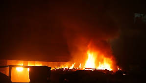 Fire at Govindpura Industrial Area in Bhopal
