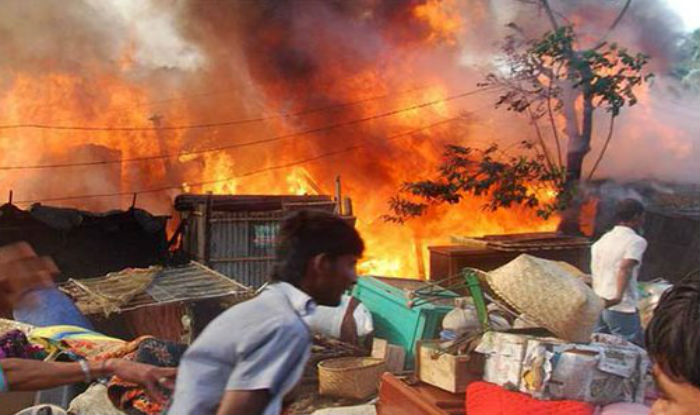Over 700 houses gutted in fire in Bihar's Darbhanga