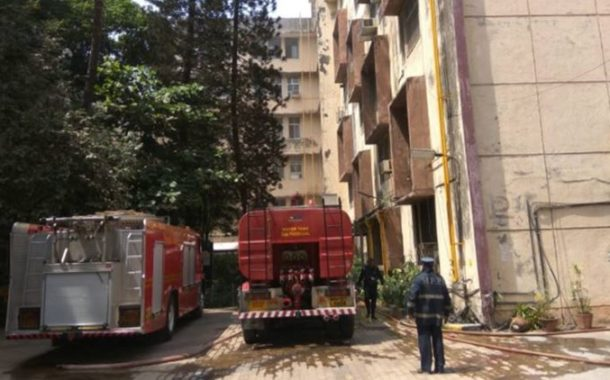 Mumbai: Fire breaks out in college building of Nair Hospital