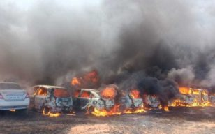 300 Vehicles On Fire Near Bengaluru Air Show, Cigarette Could Be Cause