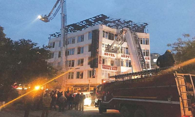 Delhi hotel where blaze killed 17 didn't have fire-safety measures in place